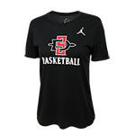 Women's Nike Jordan SD Spear Basketball Tee-Black