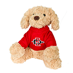 SD Spear Plush Dog-Brown