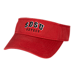 SDSU Aztecs Visor-Red