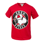 Youth SDSU Aztecs Snoopy Tee-Red