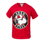 Toddler SDSU Aztecs Snoopy Tee-Red