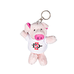 SD Spear Plush Pig Keytag