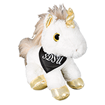 SDSU Plush Unicorn-Gold