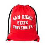 San Diego State University Mesh Gymsack-Red