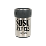 SDSU Aztecs Can Insulator-Silver