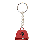 SD Spear Bell Keytag-Red