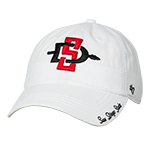 Women's SD Spear Adjustable Cap-White