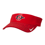 2018 Nike SD Spear Sideline Adjustable Visor-Red