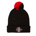 Youth 2018 Nike Sideline Pom Beanie-Black