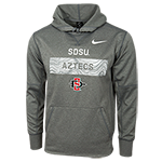 2018 Nike Sideline SDSU Aztecs Sweater-Charcoal 173c737ba