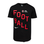 Nike Youth SDSU Aztecs Football Tee-Black