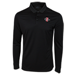 Nike SD Spear Long Sleeve Polo-Black