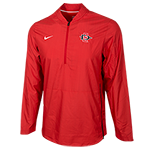 2018 Nike Sideline 1/4 Zip Jacket-Red
