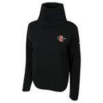 2018 Women's Nike Sideline Crop Sweatshirt-Black