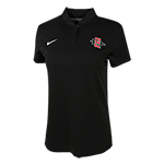 2018 Women's Nike Sideline Polo-Black