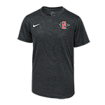 2018 Youth Nike Sideline Tee-Charcoal