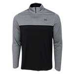 Under Armour 1/4 Zip Long Sleeve Tee-Black