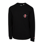 Youth SD Spear Long Sleeve Tee-Black