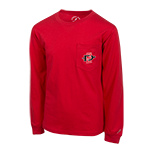Youth SD Spear Long Sleeve Tee-Red