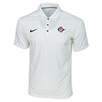 2018 Nike Sideline SD Spear Team Issue Polo-White