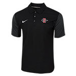 2018 Nike Sideline SD Spear Team Issue Polo-Black
