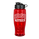 SDSU Aztecs Water Bottle-Red