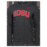 Nike SDSU Long Sleeve Tee-Charcoal Black 861e8554d