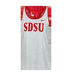 f23363dd8f35f 2018 Women s Nike Sideline SDSU Tank-Red