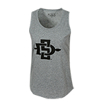 Women's SD Spear Tank-Gray