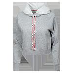 Women s San Diego State Crop Sweatshirt-Gray 30107714b