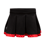 Women's SD Spear Tailgate Skirt-Black