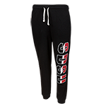 Women's SDSU Jogger Sweatpants-Black