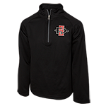 Youth SD Spear 1/4 Zip Sweatshirt-Black