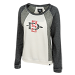 Women's SD Spear Sweatshirt-Cream