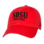2a9ca541 Nike Jordan SDSU Basketball Adjustable Cap-Red