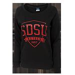Women s SDSU Aztecs 1897 Sweatshirt-Black 103853f94