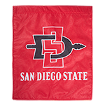 SD Spear Garden Flag-Red
