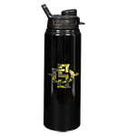SD Spear Aluminum Surge Bottle-Black