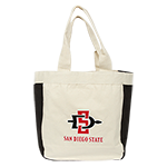 SD Spear Reusable Tote-Black
