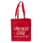 San Diego State University Tote-Red