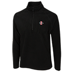 SD Spear 1/2 Zip Fleece-Black