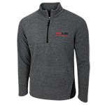 SDSU Alumni 1/4 Zip Fleece-Charcoal