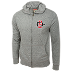 SD Spear Full Zip Sweatshirt-Gray