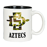 SD Spear Aztec Mug-White
