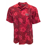 Tommy Bahama SD Spear Camp Shirt-Red