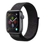 Apple Watch Series 4 GPS 40MM (Space Gray) Aluminum Case w/ Black Sports Loop