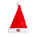 SD Spear Santa Hat-Red