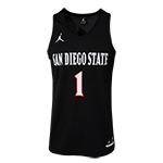 Nike Jordan Basketball Jersey-Black