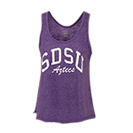 Women's SDSU Aztecs Jewel Tank-Purple