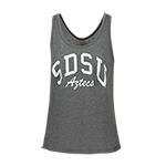 Women's SDSU Aztecs Jewel Tank-Gray